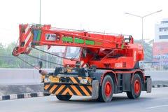 Żuraw ciężarówka Obrazy Stock