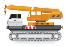 Żuraw ciężarówka ilustracji