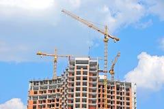 Żuraw i budowa Zdjęcie Stock