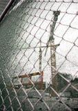 Żuraw przy plac budowy Zdjęcie Royalty Free