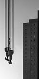Żuraw w miasto głąbiku Obrazy Royalty Free