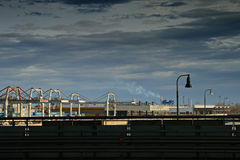 żurawia port Obraz Stock