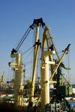 żurawia port Zdjęcie Royalty Free
