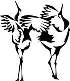 Żurawie royalty ilustracja