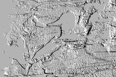 Uraz szarość cementu ściany abstrakta tło ilustracji