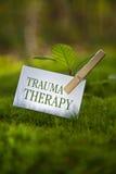 Uraz terapia Zdjęcia Stock