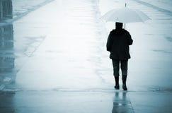 Urbain rain Stock Image
