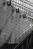 Urban. Lines and tension in urban areas Royalty Free Stock Images