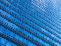 Urban abstract, class windows of office buildings of skyscrapers Stock Image