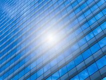 Urban abstract, class windows of office buildings of skyscrapers Stock Photography