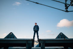 Urban adventure Stock Photography