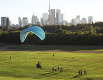Urban Adventures in Toronto's Greenbelt - Ontario October 2,2013 Stock Photography