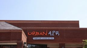 Urban Air Trampoline Park Royalty Free Stock Photography