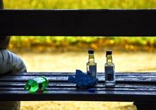 Urban alcoholism Stock Photo