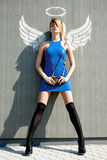 Urban angel Royalty Free Stock Photo