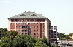 Urban Apartment Building stock images