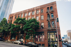 Urban Apartment Building San Francisco Stock Photography