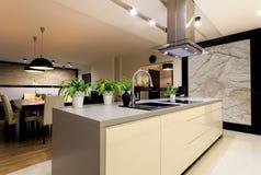 Free Urban Apartment - Kitchen Stock Image - 35897541