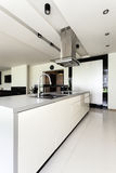 Urban apartment - kitchen interior Stock Photo
