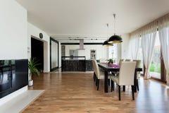 Urban apartment - Modern interior Royalty Free Stock Photos