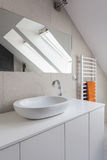 Urban apartment - round sink Stock Images