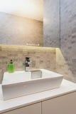 Urban apartment - Small toilet Royalty Free Stock Photos