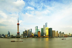 Urban architecture. This is to be located in Shanghai lujiazui area within the territory of China,Located in Shanghai pudong area,Here is the financial royalty free stock photography
