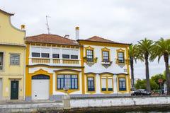 Urban architecture, Aveiro, Portugal Royalty Free Stock Photo