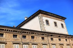 Urban architecture background, Mantua, Italy Stock Photography