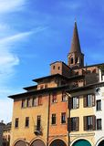 Urban architecture background, Mantua, Italy Stock Photos