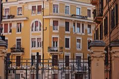 Urban Architecture In Rome Royalty Free Stock Photography