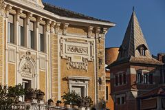 Urban Architecture In Rome Royalty Free Stock Images
