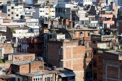 Urban architecture from Kathmandu Nepal Stock Photo