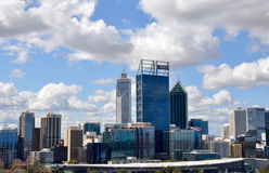 Urban Architecture: Perth Cityscape Stock Photos
