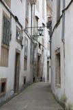 Urban architecture of Santiago de Compostela, Spain Royalty Free Stock Photography