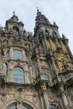 Urban architecture of Santiago de Compostela, Spain Stock Photo