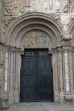 Urban architecture of Santiago de Compostela, Spain Stock Image