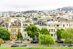 Urban architecture with skyline in San Francisco Royalty Free Stock Images