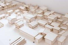 Urban Architecure model Royalty Free Stock Images