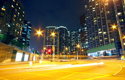 Urban area at night Royalty Free Stock Photo