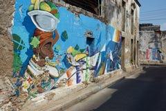 Urban Art of Cartagena de Indias Royalty Free Stock Photo