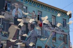Urban art in Castro Area in San Francisco Stock Photography