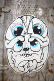 Urban art - dog Stock Image