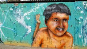 Urban Art in eastern Venezuela Stock Photography