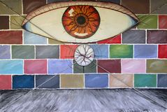 Urban aRt. EyE. Stock Photography