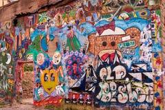 Urban Art-1. Urban art graffiti from Bisbee, Arizona Stock Photography