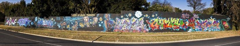 Urban Art - Graffiti Wall - Graffiti Friday Stock Photography