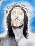Urban ArT. Jesus Christ of Nazareth Royalty Free Stock Images