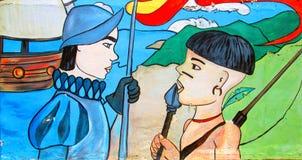 Free UrBAN Art. MeetiNG Royalty Free Stock Photography - 46563767