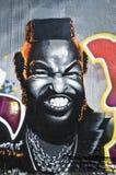 Urban Art - Mister T Stock Image